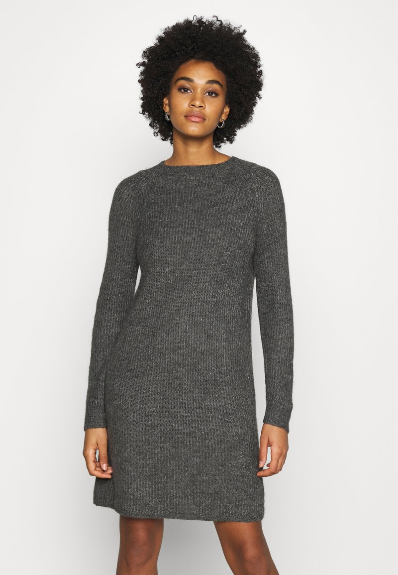 ONLY - ONYSALLIE DRESS - Jumper dress - dark grey melange