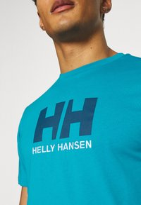Helly Hansen - LOGO - Print T-shirt - caribbean sea - 4