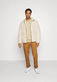 Topman - CREW 2 PACK - Sweatshirt - olive - 0
