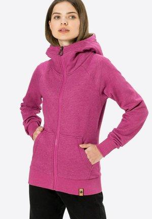 SEX - Zip-up sweatshirt - lilameliert