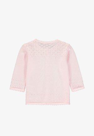 MIT TEDDYBÄRMOTIV - Vest - barely pink