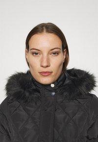 Dorothy Perkins - SHORT LUXE - Winter coat - black - 3