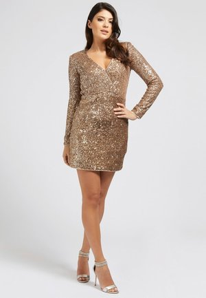 Cocktail dress / Party dress - goldenfarbe