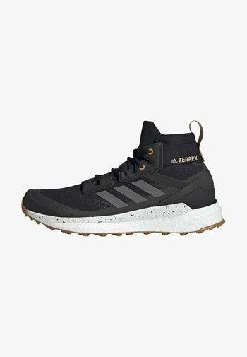 TERREX FREE HIKER PRIMEBLUE WANDERSCHUH - Zapatillas de senderismo - black