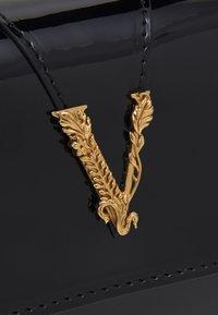 Versace - BAG  - Taška spříčným popruhem - black/gold-coloured - 3
