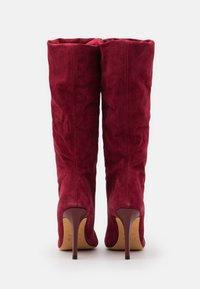 Iro - STEVIE - Laarzen met hoge hak - burgundy - 3