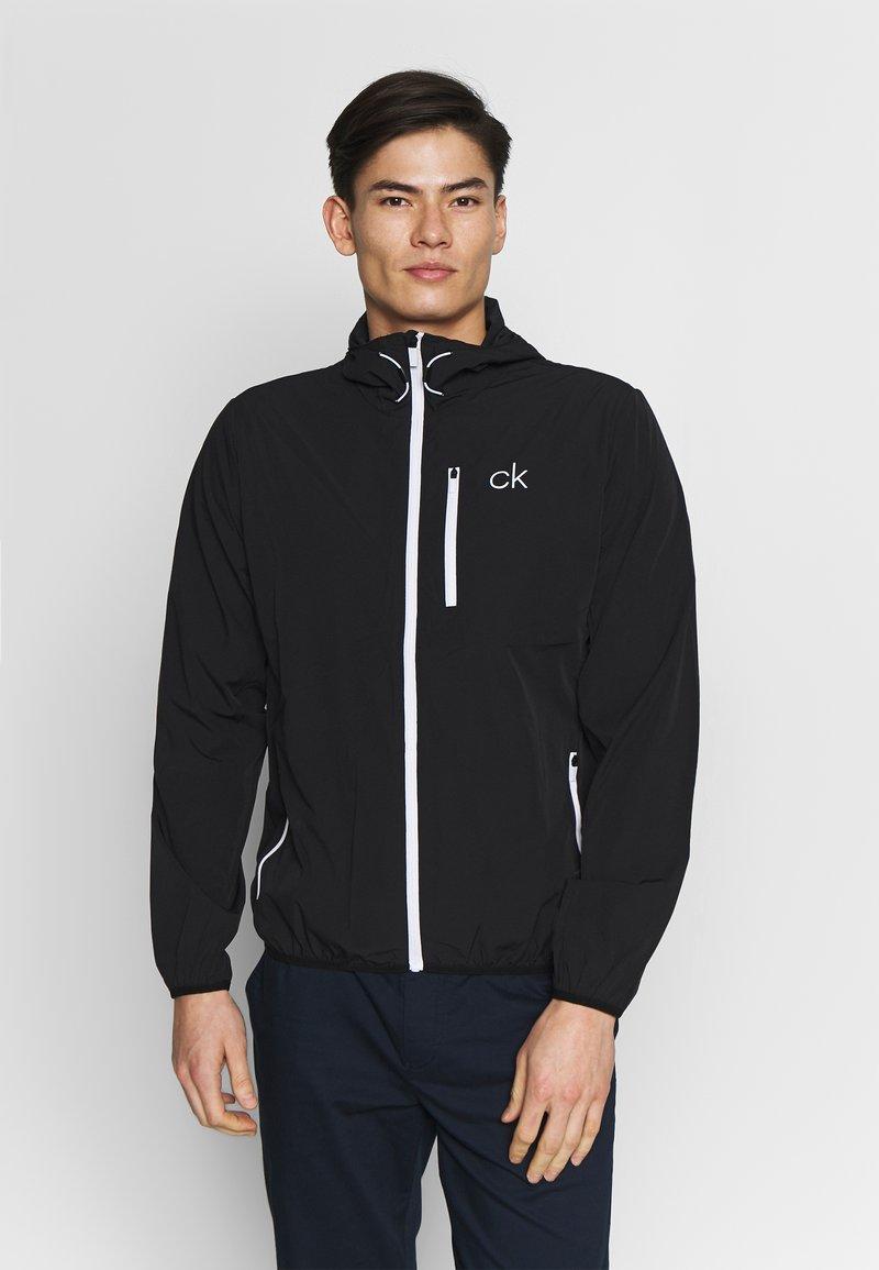 Calvin Klein Golf - ULTRALITE JACKET - Verryttelytakki - black