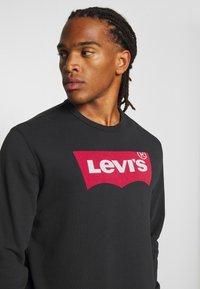 Levi's® - GRAPHIC CREW - Sweatshirt - jet black - 4