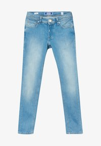 Jack & Jones Junior - JJILIAM JJORIGINAL AGI JR - Jeans slim fit - blue denim - 3