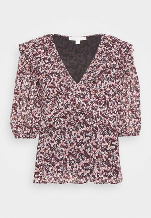 DAINTY  - Blouse - dark ruby