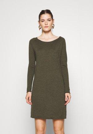 FELLINI MARIKE - Jumper dress - olive/khaki