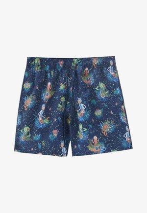 RICK & MORTY - Swimming shorts - dark blue