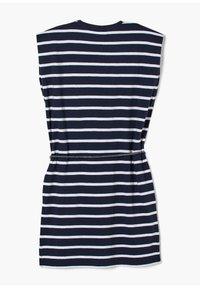 s.Oliver - ROBE À MOTIF RAYÉ - Jersey dress - dark blue stripes - 2