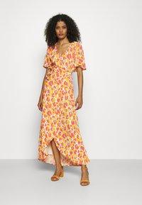 Fabienne Chapot - ARCHANA SLEEVE CATO DRESS - Maxi dress - pink - 0