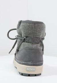 Roxy - WHISTLER - Botki sznurowane - charcoal - 3