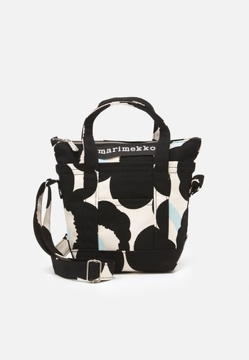 MILLI MATKURI PIENI UNIKKO BAG - Handbag - off white/black/light blue