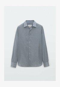 Massimo Dutti - SLIMFIT - Shirt - blue - 0