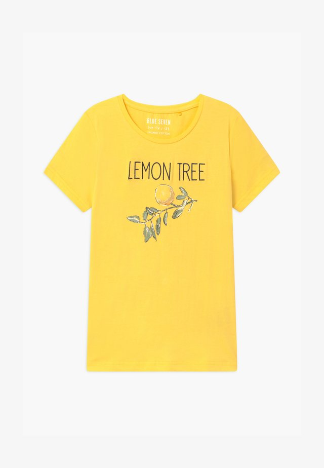 TEEN GIRL LEMON TREE - Print T-shirt - stroh