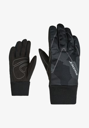 Gloves - gray ink camo
