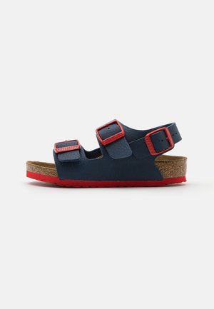 MILANO KIDS  - Sandals - desert soil blue/red
