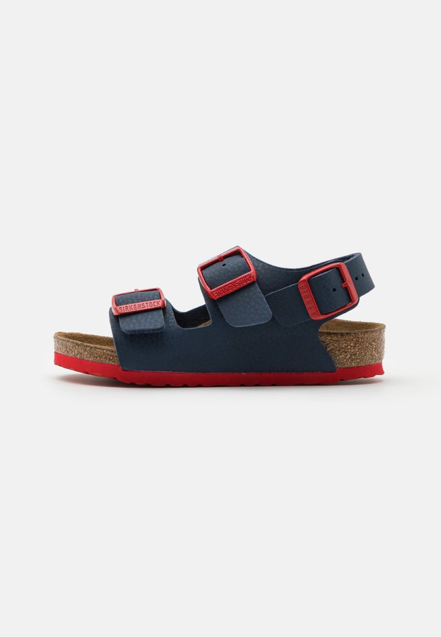 MILANO KIDS  - Sandalias - desert soil blue/red