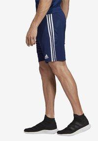 adidas Performance - TIRO 19 AEROREADY PRIMEGREEN SHORTS - Sports shorts - blue - 2