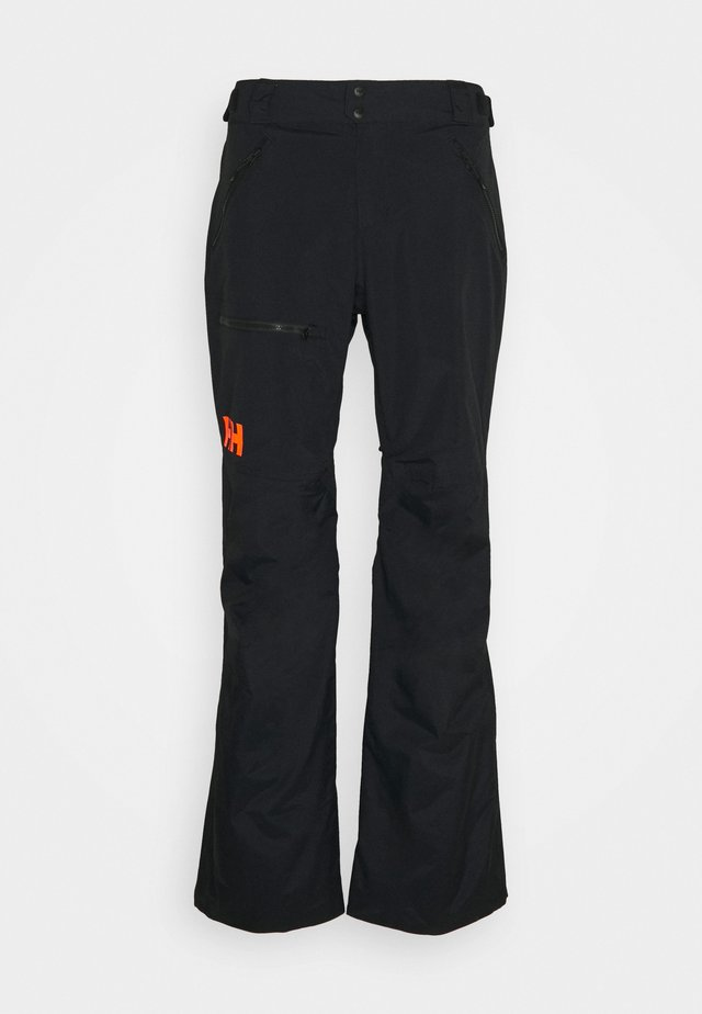 SOGN CARGO PANT - Talvihousut - black