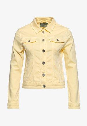 ALICIA - Denim jacket - pastellgelb
