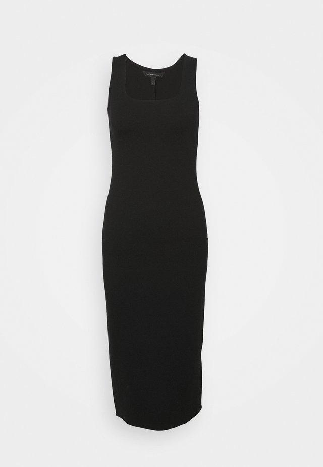 VESTITO - Sukienka z dżerseju - black