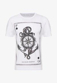 Pier One - Print T-shirt - white - 3
