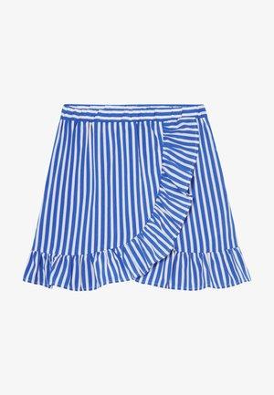 SKIRT - A-line skirt - dazzling blue/bright white