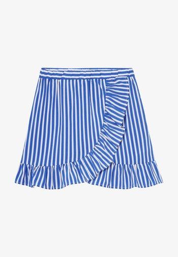 SKIRT - Áčková sukně - dazzling blue/bright white