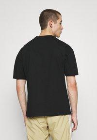 9N1M SENSE - VULKAN UNISEX - T-shirt print - black - 2