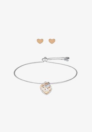 PREMIUM SET - Earrings - silver-coloured/rose gold-coloured