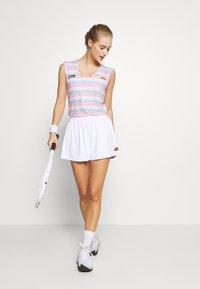 Ellesse - TRIONFO - Sportovní sukně - white - 1