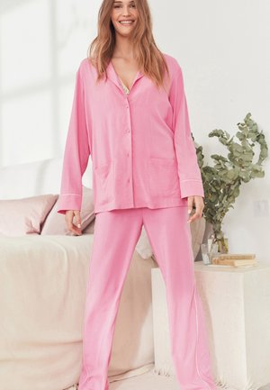 BUTTON THROUGH - Pyjama set - pink