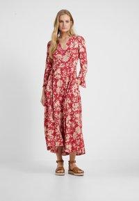 Polo Ralph Lauren - Maxi dress - red meadow - 0