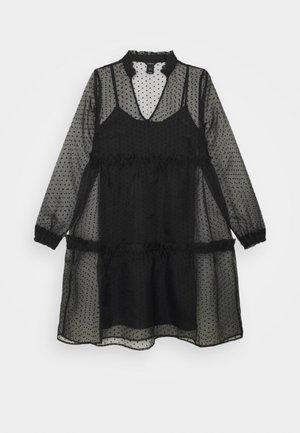 DRESS MY - Korte jurk - black