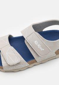 Kickers - SUMMERKRO - Sandals - gris galactic - 5