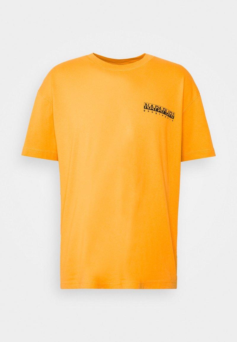 Napapijri The Tribe - YOIK UNISEX - T-shirt con stampa - yellow solar
