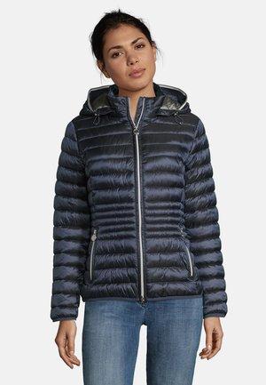 MIT STEHKRAGEN - Winter jacket - dunkelblau
