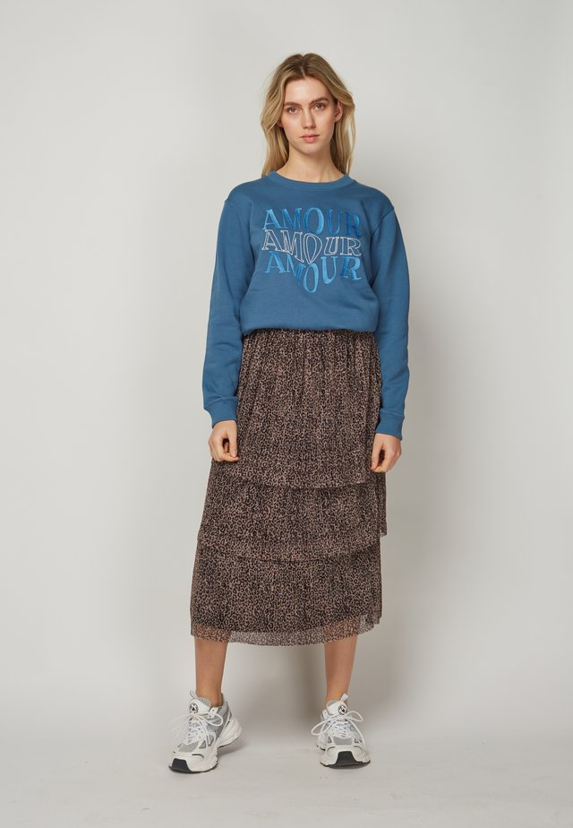 AMOUR AMOUR AMOUR - Sweater - blue