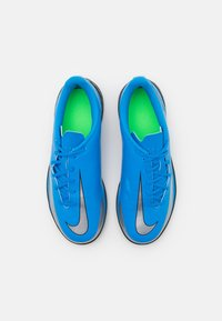Nike Performance - PHANTOM GT CLUB IC UNISEX - Indoor football boots - photo blue/metallic silver/rage green - 3