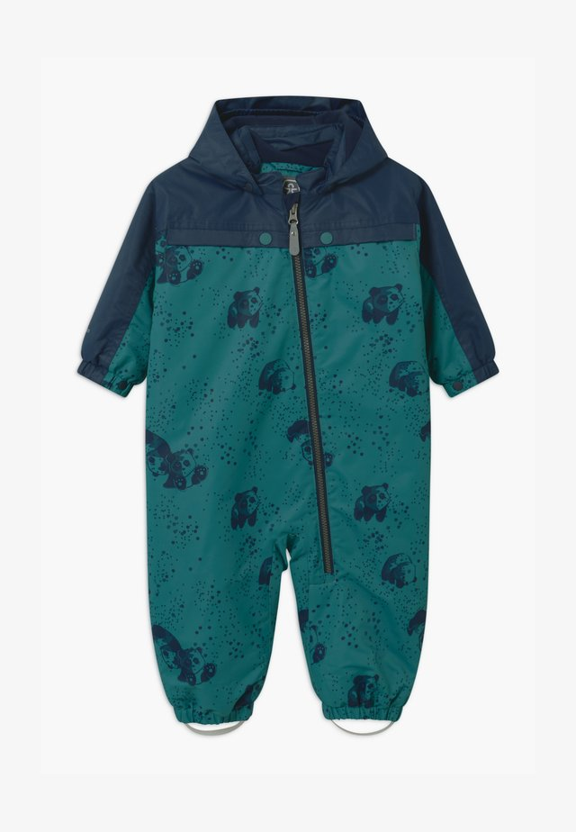 DOTS UNISEX - Skipak - dark green/dark blue