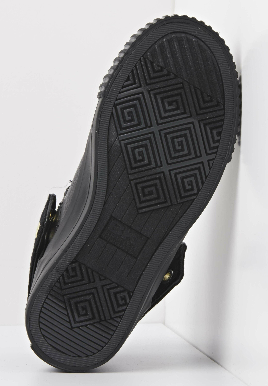 Komfortabel British Knights ROCO  Sneakers high  black/dk grey leopard/gold/bla SUMYi