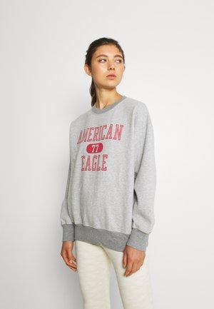 OVERSIZED VINTAGE CREW - Sweatshirt - heather gray