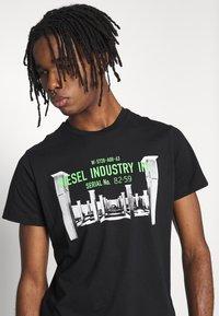 Diesel - DIEGO - T-shirt print - black - 3