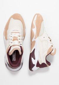 Puma - STORM ORIGIN - Trainers - nougat/whisper white - 3