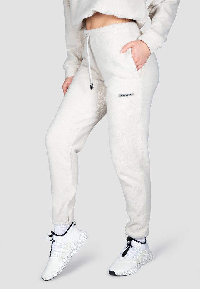 Pantaloni sportivi - cremeweiß