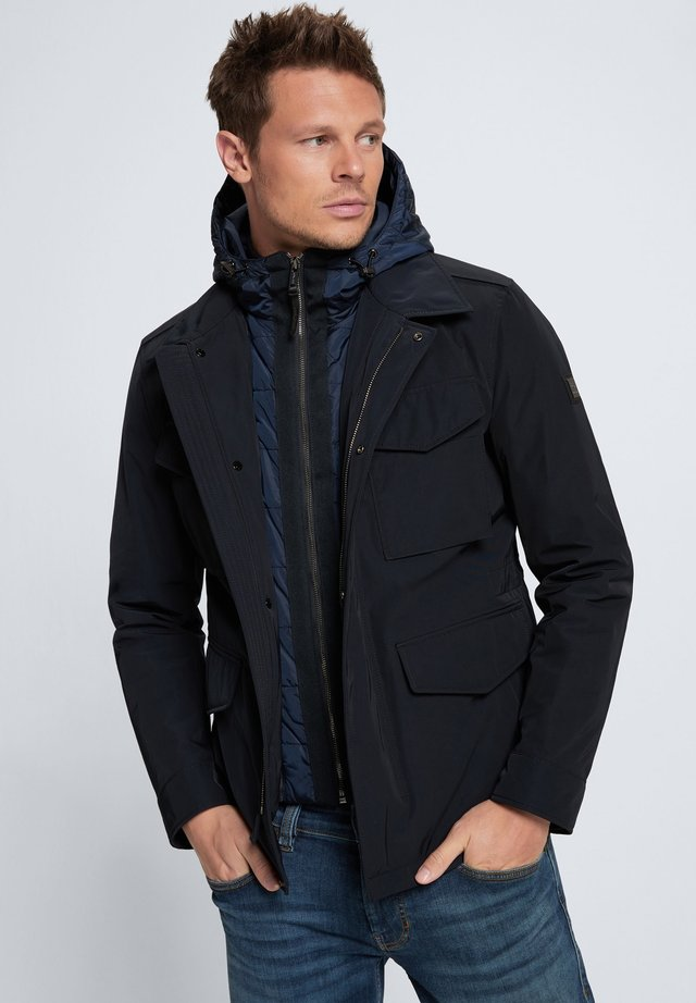 Outdoor jacket - dunkelblau